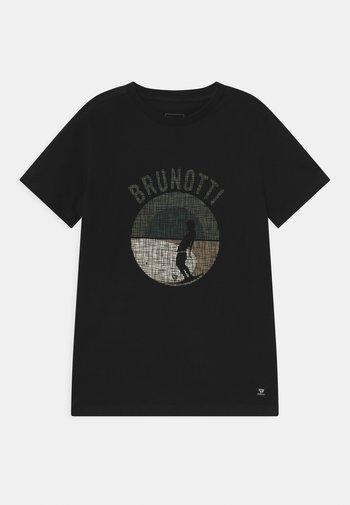 TIM - Print T-shirt - black