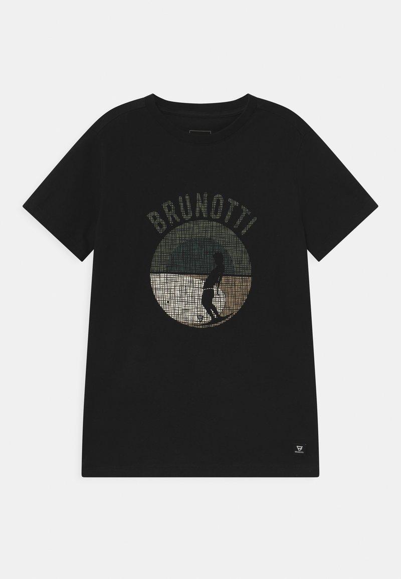 Brunotti - TIM - Print T-shirt - black
