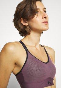Under Armour - INFINITY MID BRA - Medium support sports bra - purple/black - 5