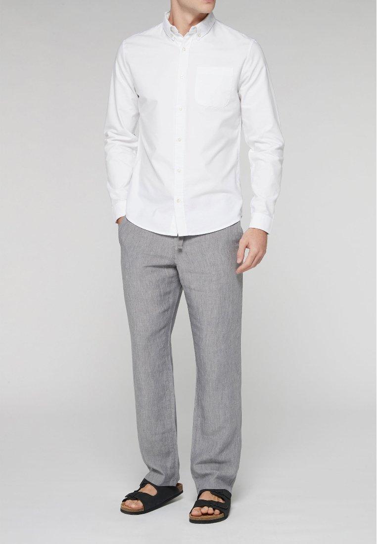 Uomo LONG SLEEVE OXFORD - Camicia