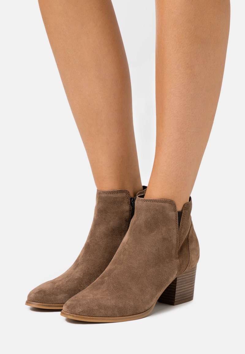 Dune London - PAYGE - Ankle boots - taupe