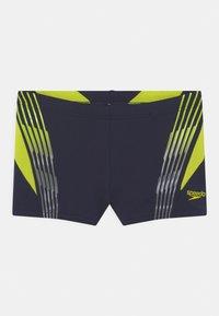 Speedo - GRADIENT PLACEMENT AQUA - Swimming shorts - true navy/wild lime - 0