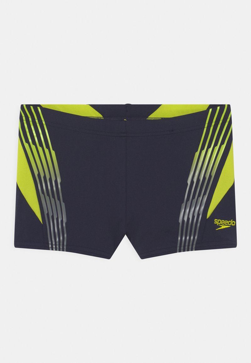 Speedo - GRADIENT PLACEMENT AQUA - Swimming shorts - true navy/wild lime