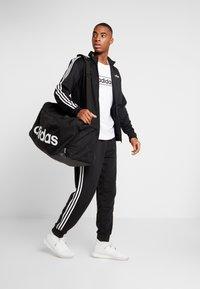 adidas Performance - LIN DUFFLE L - Sporttas - black/white - 1