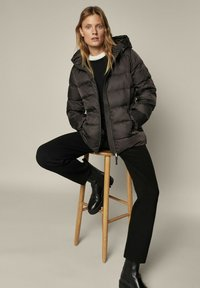 Massimo Dutti - Winter jacket - dark grey - 2