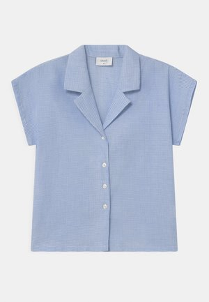 SUISU CHECK  - Blouse - light blue