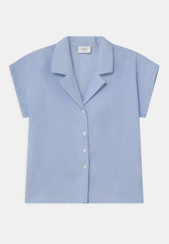 SUISU CHECK  - Camicetta - light blue