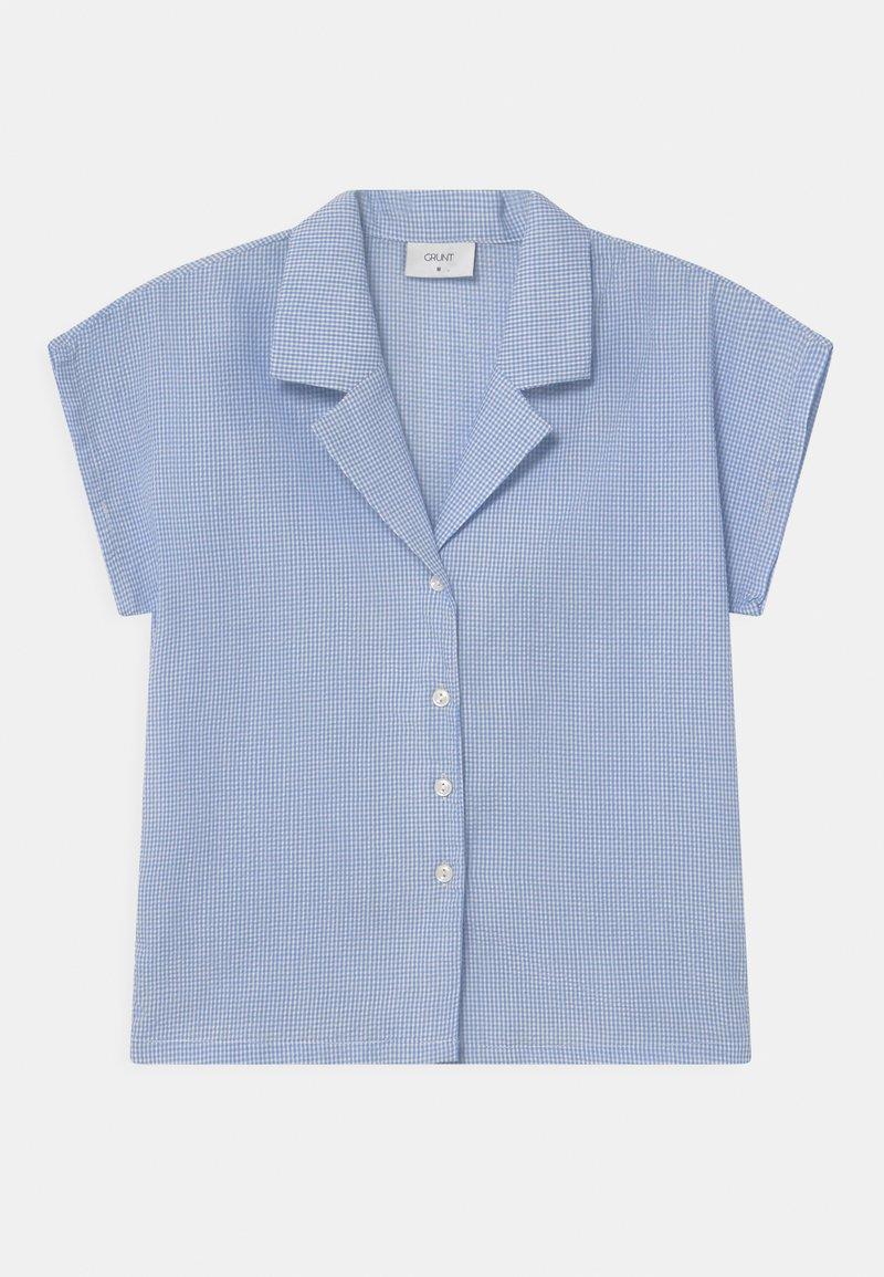 Grunt - SUISU CHECK  - Blouse - light blue