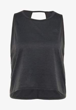 TANK COOLER - Funktionsshirt - black/heather