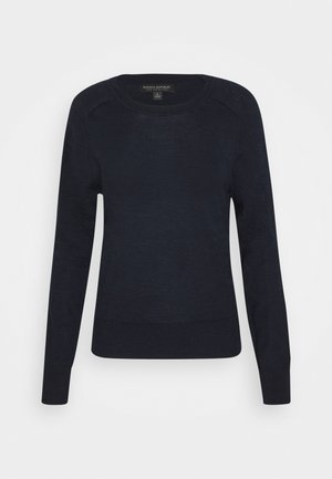 CREW SOLIDS - Strikkegenser - preppy navy