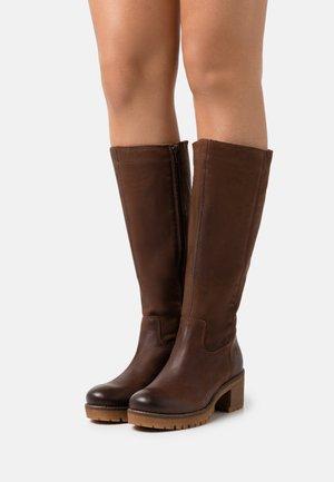 ALEXA - Boots - brown