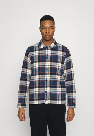 PINE BIG CHECKED HEAVY OVERSHIRT - Overhemd - total eclipse