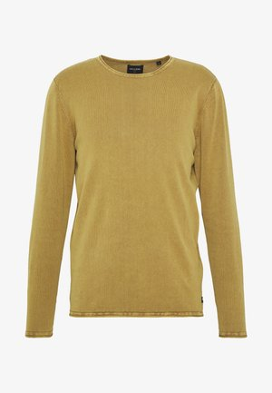 ONSGARSON WASH CREW NECK - Jumper - gold