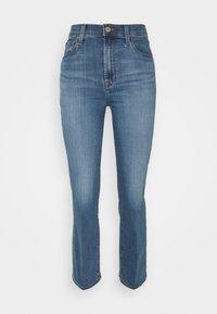 J Brand - FRANKY HIGH RISE CROP BOOT - Straight leg jeans - earthen - 0