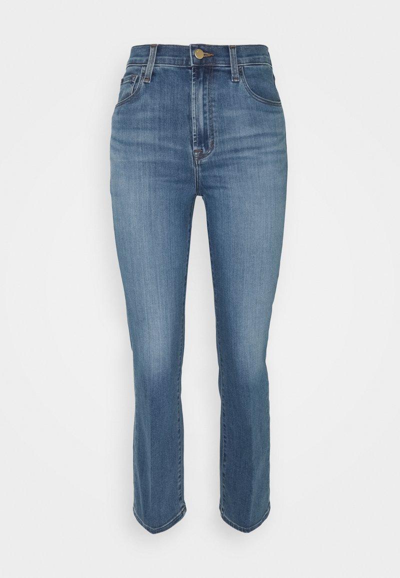 J Brand - FRANKY HIGH RISE CROP BOOT - Straight leg jeans - earthen