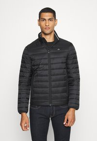 Calvin Klein - LIGHT WEIGHT SIDE LOGO JACKET - Light jacket - black - 0