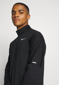 Nike Performance - Sports shirt - black/silver - 3