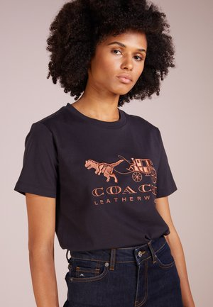 REXY AND CARRIAGE - Print T-shirt - black