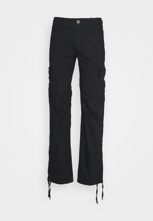 STOP PANT - Cargo trousers - black