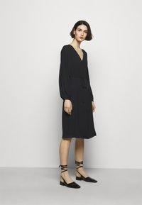 Filippa K - WILLA DRESS - Vestito estivo - black - 1