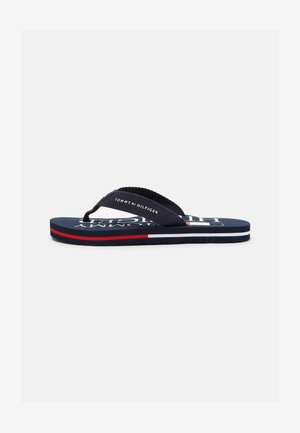 UNISEX - T-bar sandals - blue