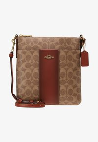 Coach - MESSENGER CROSSBODY SIGNATURE - Torba na ramię - tan rust - 5