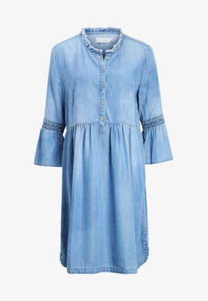 LUSSA DRESS - Denim dress - light blue denim