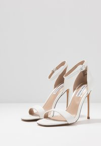 Steve Madden - REEVES - High heeled sandals - white - 4
