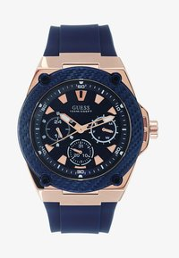 Guess - MENS SPORT - Watch - blue/rosegold-coloured - 1