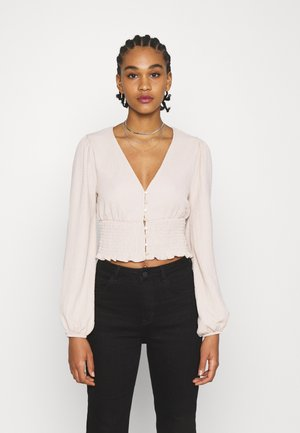 ZOEY - Long sleeved top - white dusty light