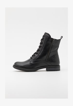 RONJA - Lace-up ankle boots - black