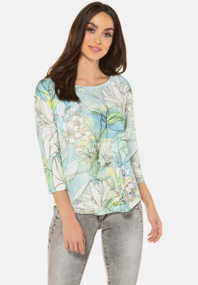 Pitkähihainen paita - türkisblau