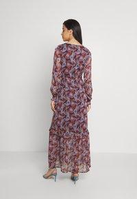 Vila - VIFALIA ANCLE DRESS - Maxi dress - winetasting blue - 2