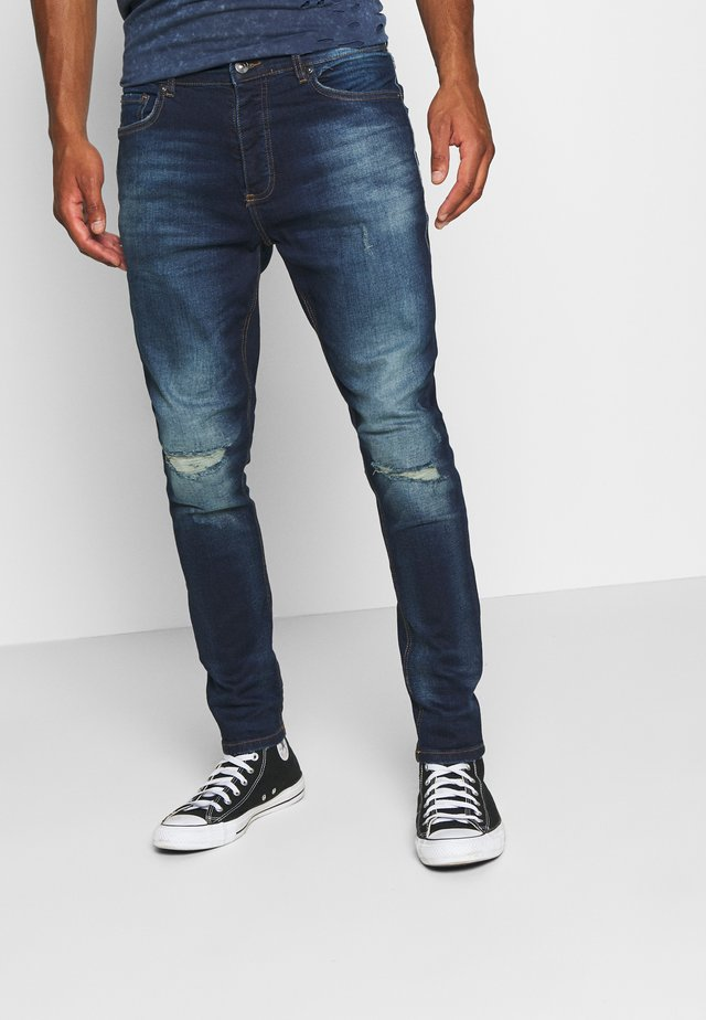 CAMERON - Slim fit jeans - dark blue wash