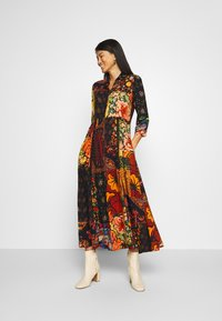 Desigual - TURIN DESIGNED BY CHRISTIAN LACROIX - Maxi dress - granate oscuro - 1