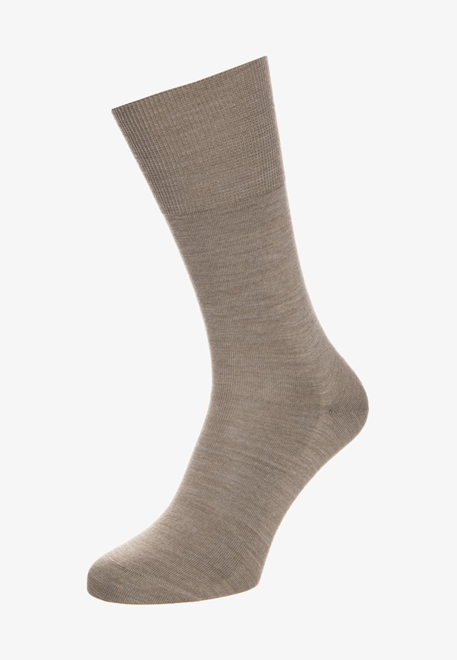 AIRPORT - Socks - nutmeg melange