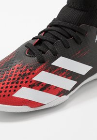 adidas Performance - PREDATOR 20.3 IN - Indoor football boots - core black/footwear white/active red - 2