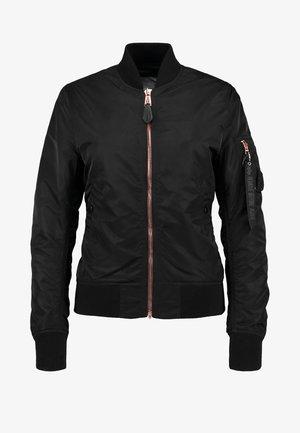 Bomber Jacket - black/copper