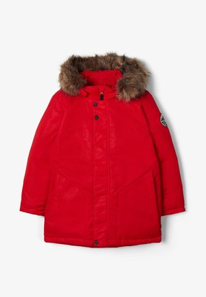 Down jacket - tango red