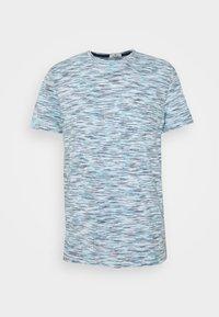 white blue space dye