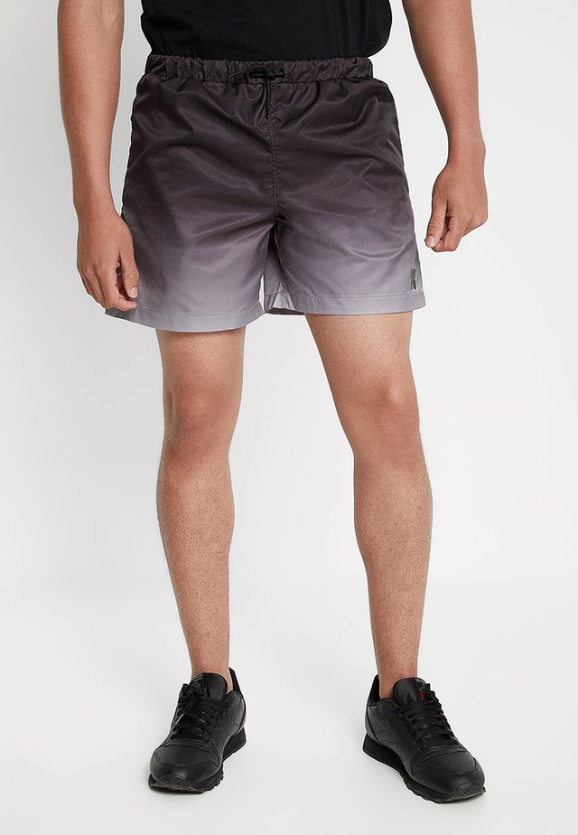 OMBRE - Shorts - light grey marl