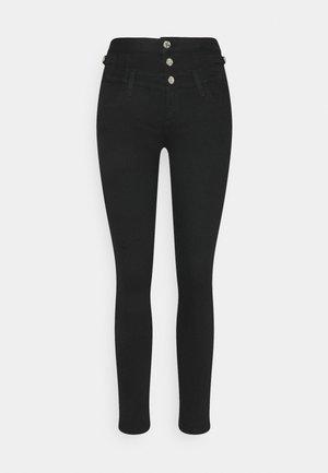 RAMPY - Jeans Skinny Fit - black ribbon