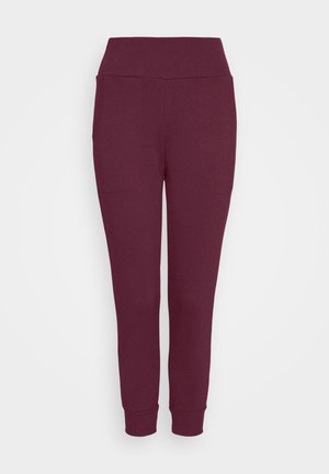 FLOW HYPER 7/8 PANT - Tracksuit bottoms - night maroon