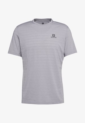 TEE - T-Shirt basic - alloy/heather