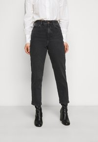 New Look Petite - SRI LANKA MOM - Relaxed fit jeans - black - 0