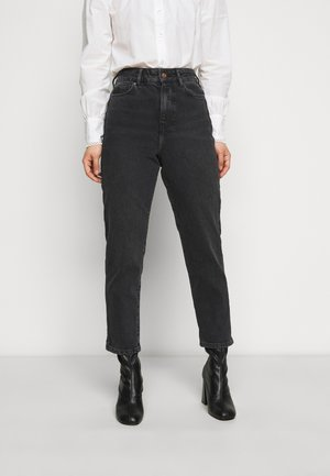 SRI LANKA MOM - Jeansy Relaxed Fit - black