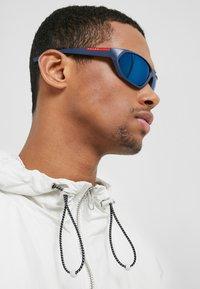 Prada Linea Rossa - Sunglasses - black/blue - 1