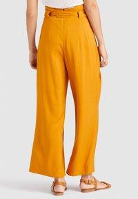 khujo - EIVOLA - Trousers - yellow - 2