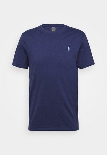 CUSTOM SLIM FIT JERSEY CREWNECK T-SHIRT - Basic T-shirt - boathouse navy