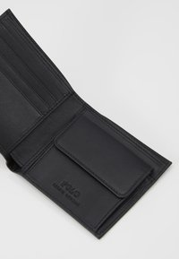 Polo Ralph Lauren - WALLET SMOOTH - Geldbörse - black - 5